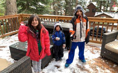 Lake Tahoe during winter is Incredible