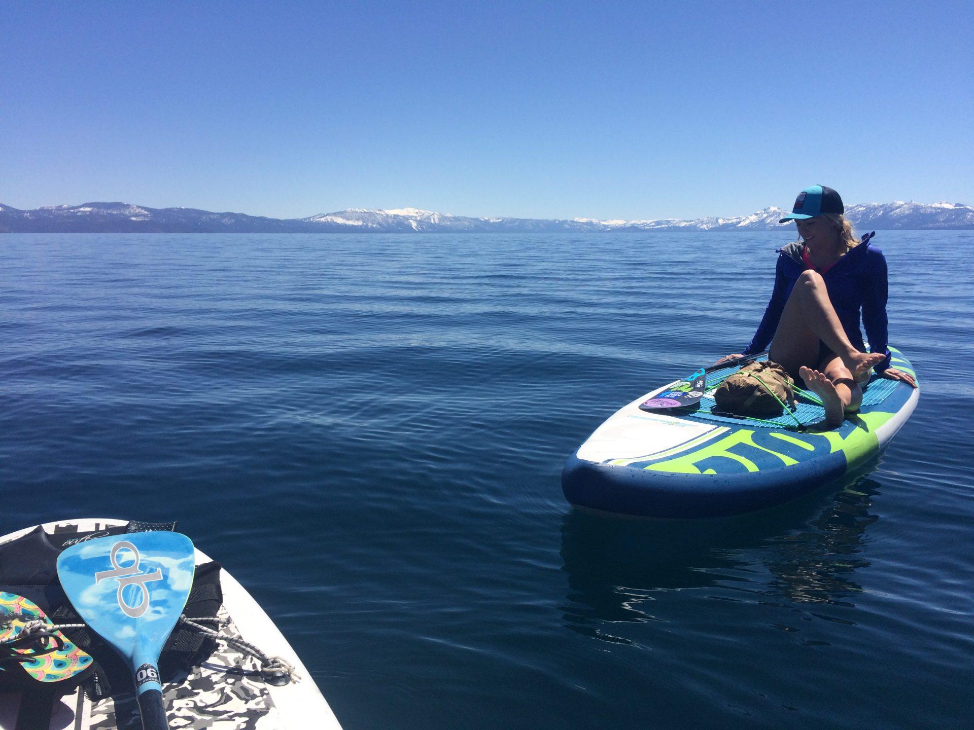 Paddle en Lake Tahoe