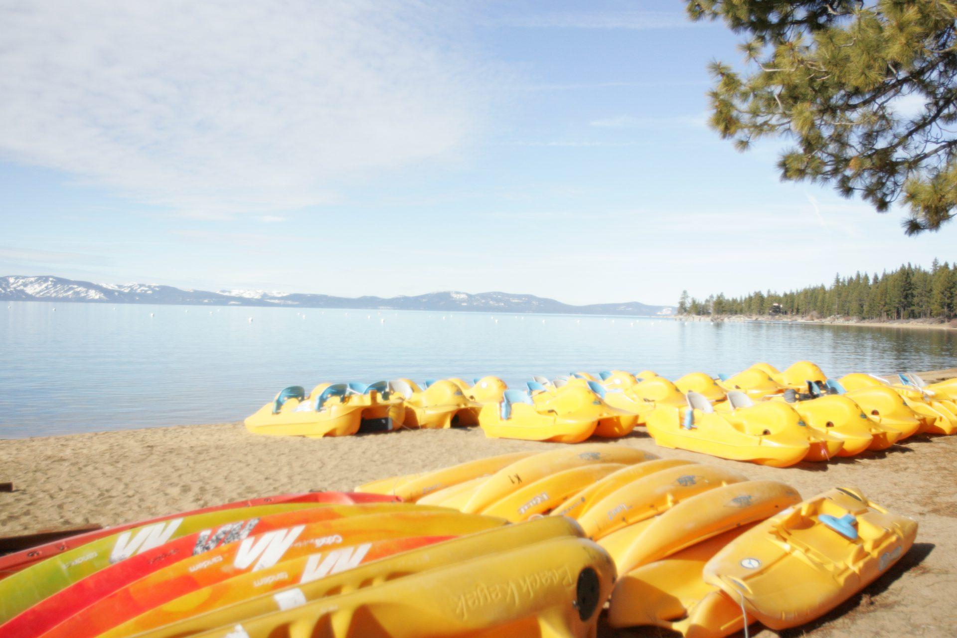 Kayak Rental Zephyr Cove Lake Tahoe
