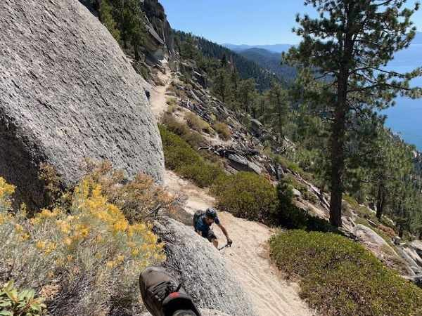 Mountain Biking Lake Tahoe: Offering the best mountain biking in California's Sierra Nevada