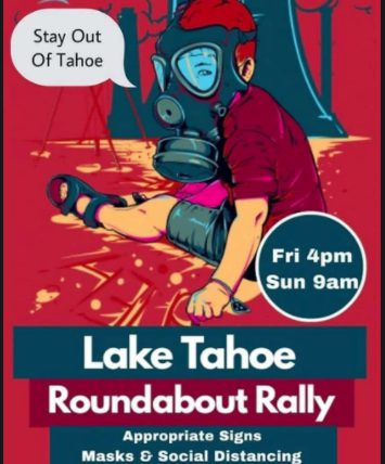 Local Tahoe visitor backlash protest