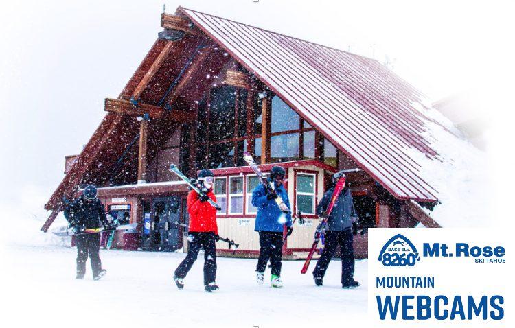 Mt. Rose Ski Tahoe Mountain Webcams Link