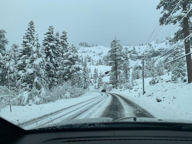 Squaw Valley Alpine Meadows Road Webcam