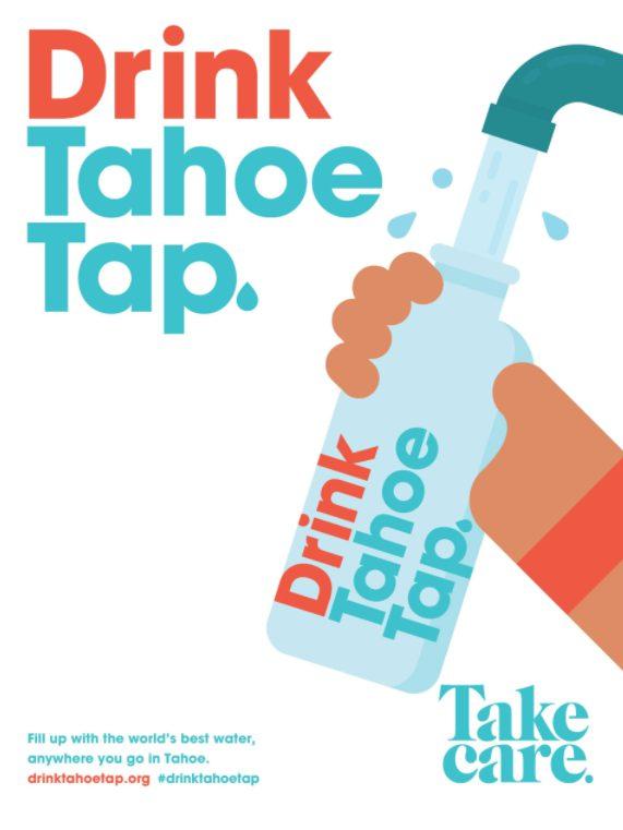 Take Care Tahoe Poster Tahoe Tap