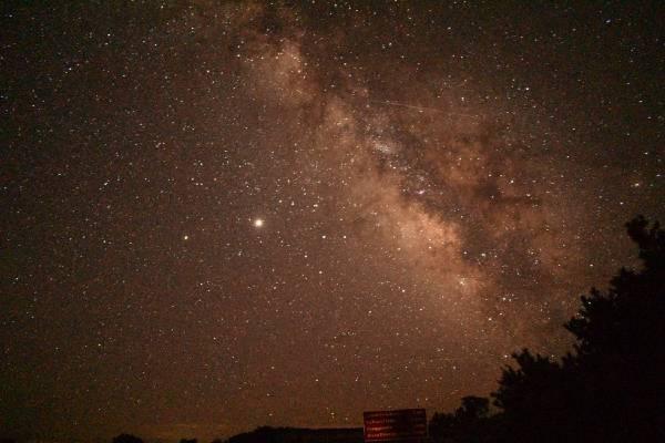 Milky Way stargazing Tahoe ENG