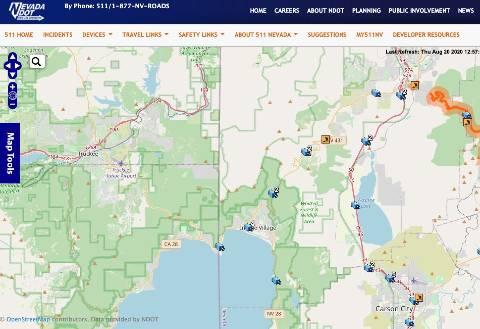 Nevada-DOT-Traffic-Camera-Map-Lake-Tahoe-Area-1