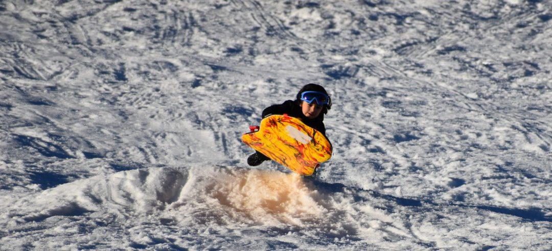 Four Fantastic Free Sledding Hills in Lake Tahoe