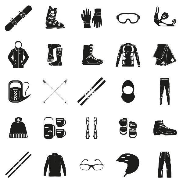 Qué usar para esquiar