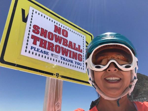 Squaw Valley Spring - No Snowballs