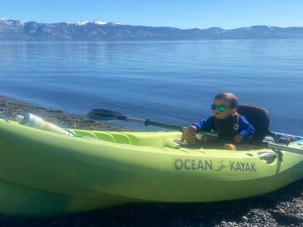 Baby paddle Tahoe