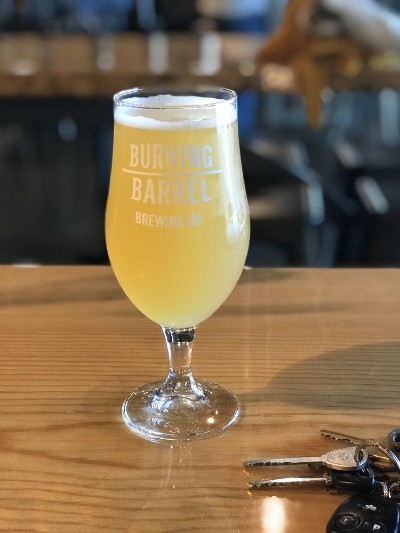 Burning Barrel Brewery beer pic