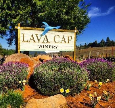 Lava Cap Winery Sign