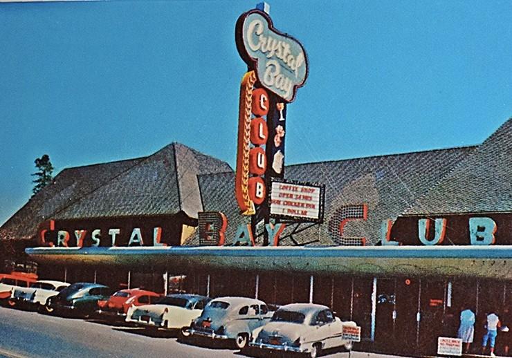 Crystal Bay Club historic photo