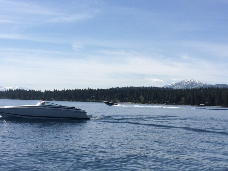 Boating Lake Tahoe – How to get around by boat