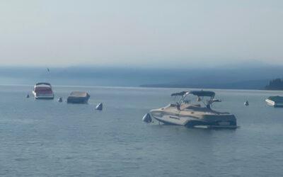 Cómo mantenerse sano y activo cuando el humo llega al Lago Tahoe